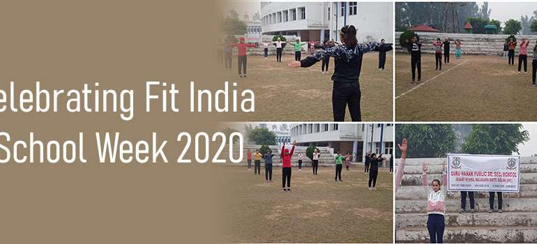 Celebrating Fit India School Week 2020