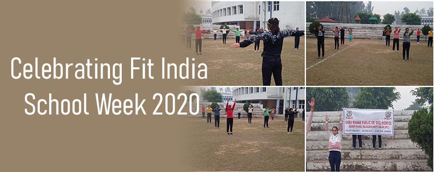 Celebrating Fit India School Week 2020